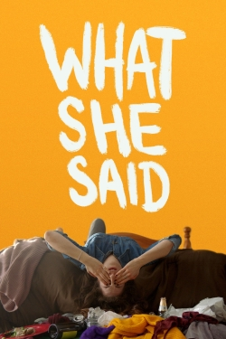 What She Said-fmovies